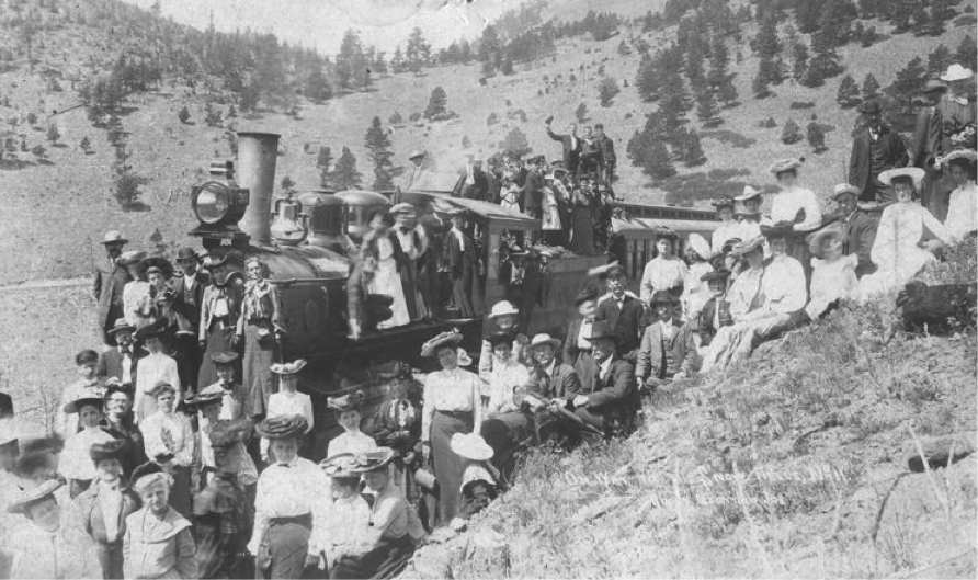 Excursions on the Switzerland Trail of America, courtesy of Boulder Historical Society.